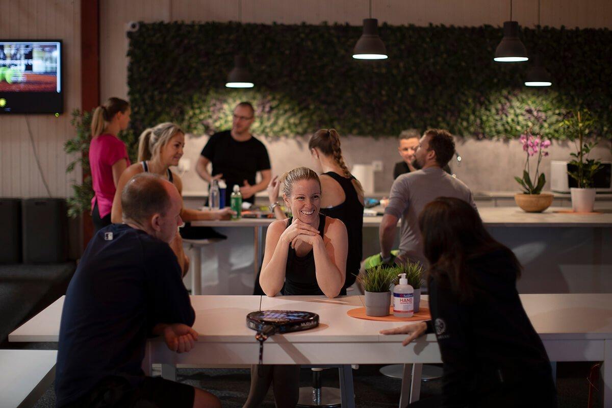 Lounge Medlemmar Ekerö Padel