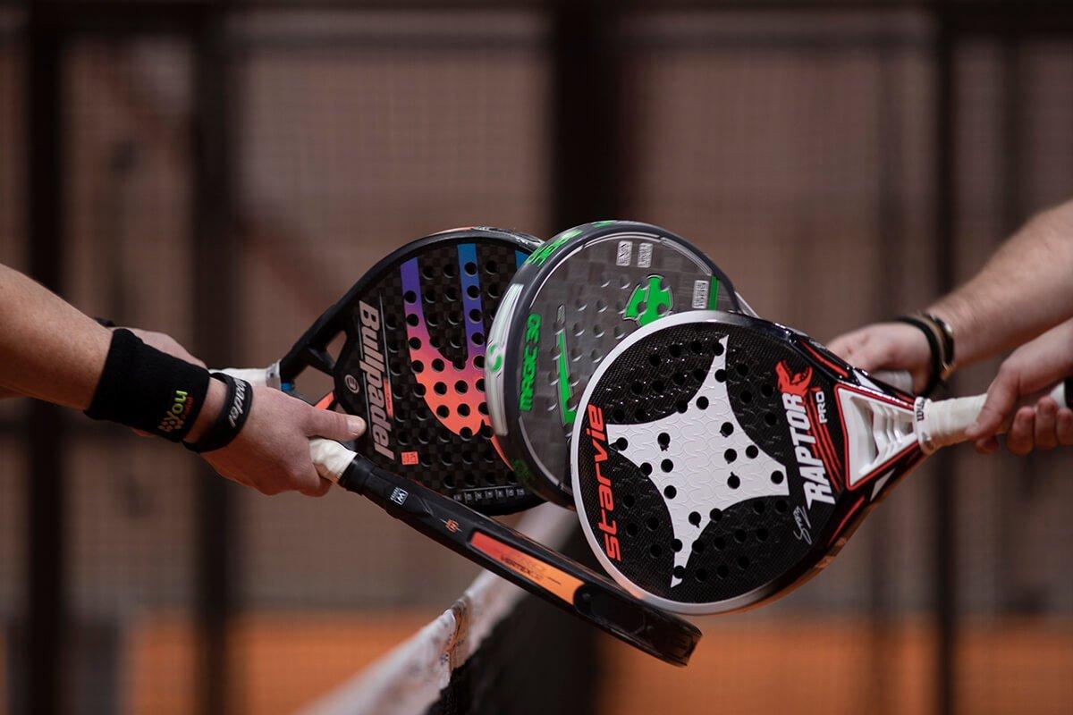 Racket utrustning Ekerö Padel